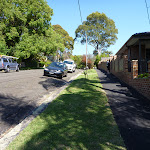 Walking along Figtree Rd (343669)