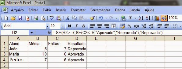Know the conditional functions in Excel 4