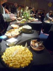 2013 Showcase of Wine and Cheese Boys and Girls Club Portland cheese buffet