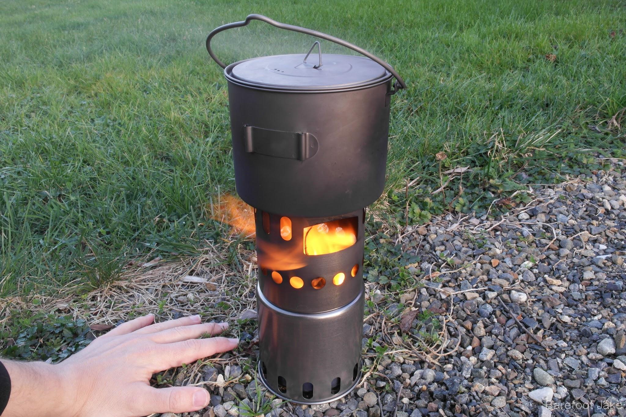 camping wood stove