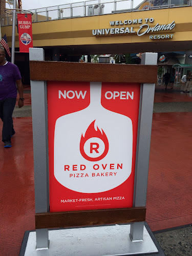 Red oven pizza bakery universal orlando CityWalk opening photos
