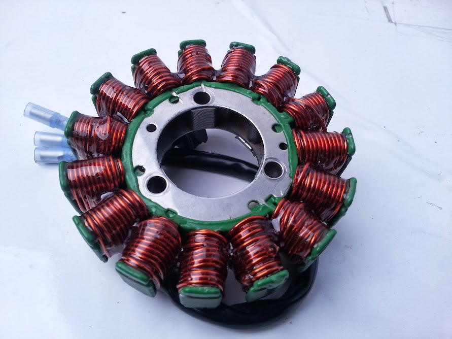 RaceTech Electric stator hand wind