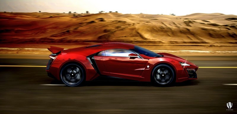 W Motors Lykan Hypersport The Star Of Fast Amp Furious 7