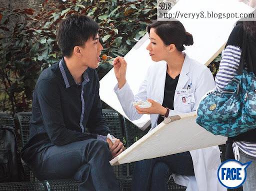 《On Call 36小時Ⅱ》拍攝楊怡餵馬明食魚蛋戲分