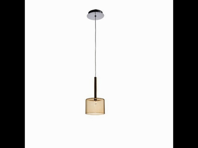 amber pendant light