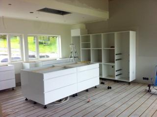 Kvik kjøkken montering