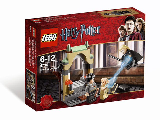4736 レゴ 自由の身のドビー(ハリー・ポッター)