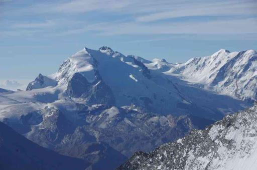 Le Mont Rose et le Breithorn