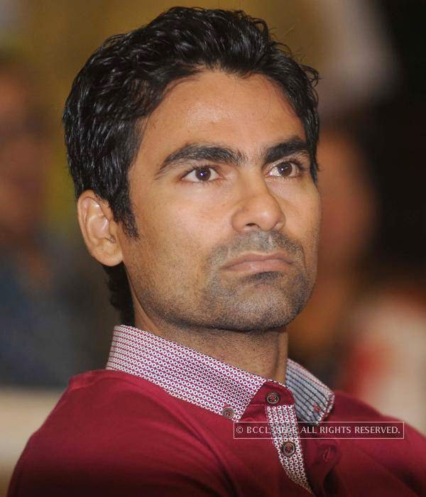 Mohammed Kaif during the UNICEF event.
