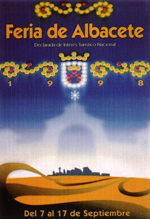 Cartel Feria Albacete 1998