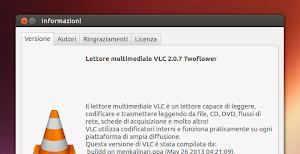 VLC 2.0.7 su Ubuntu 13.04 Raring