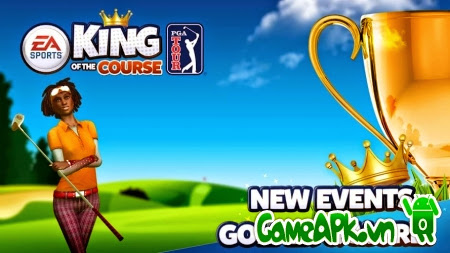 King of the Course Golf v2.1 hack full tiền cho Android