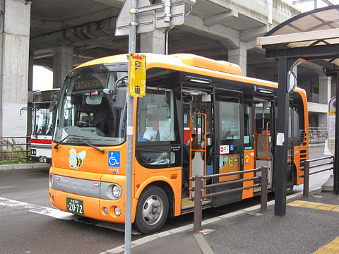千歳市循環型コミュニティバス「ビーバス」<br /> Aコース専用車両(北海道中央バス)