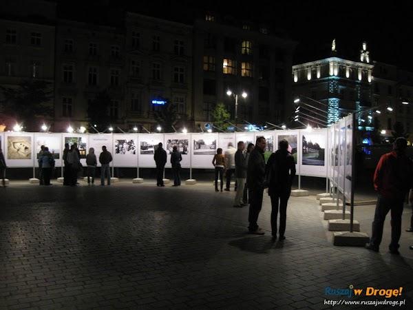 Krakowski rynek nocą