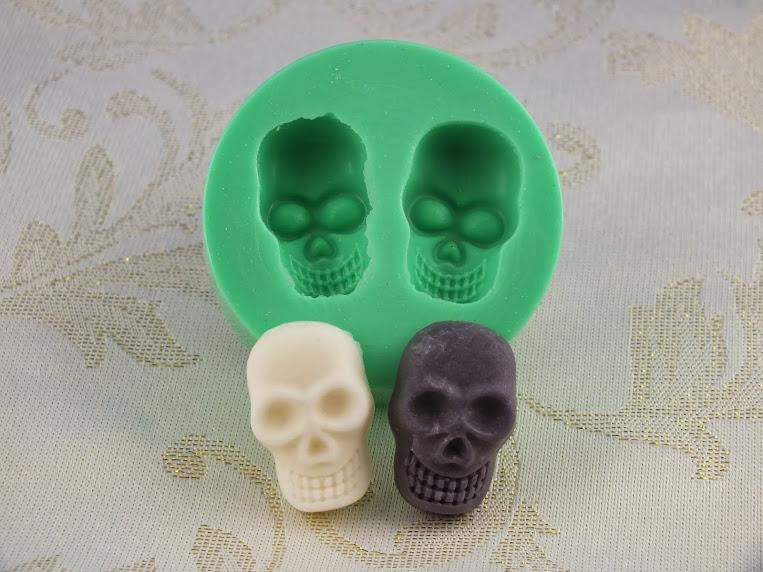 silikonform silikon mould lebensmittelecht fondant totenkopf skelett halloween ebay. Black Bedroom Furniture Sets. Home Design Ideas