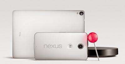 Nexus 9 と Nexus 6