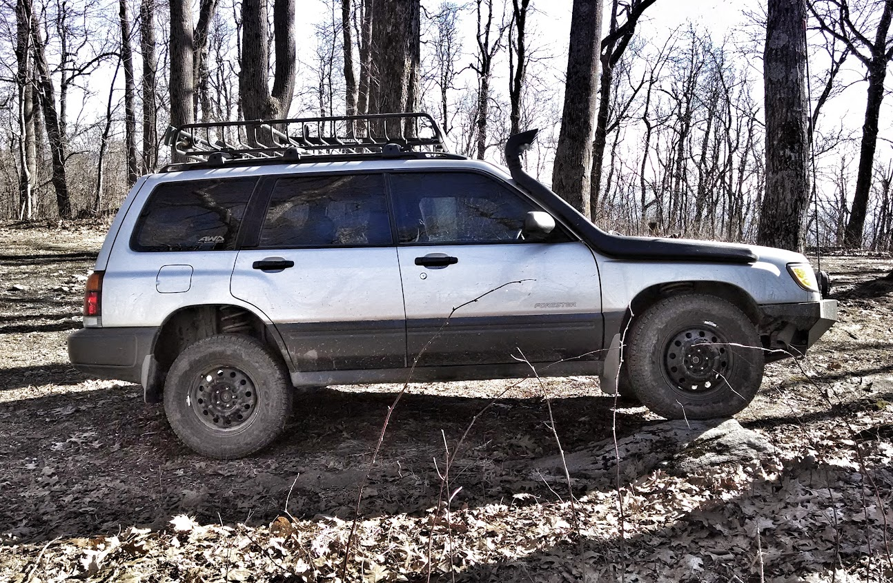 Setting up my 2006 forester x for off road subaru forester most of us besnorkeled foz guys are using first gen montero snorkels takes a bit of work to get them to fit well and a bit more metal cutting than youd vanachro Gallery