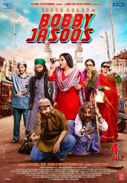 Poster Of Hindi Movie Bobby Jasoos (2014) Free Download Full New Hindi Movie Watch Online At Alldownloads4u.Com