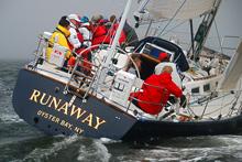 J/44 cruiser-racer sailboat- sailing Vineyard Race