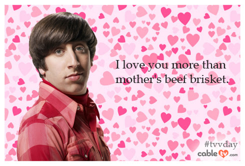 14 Days of TV Show Valentine Cards