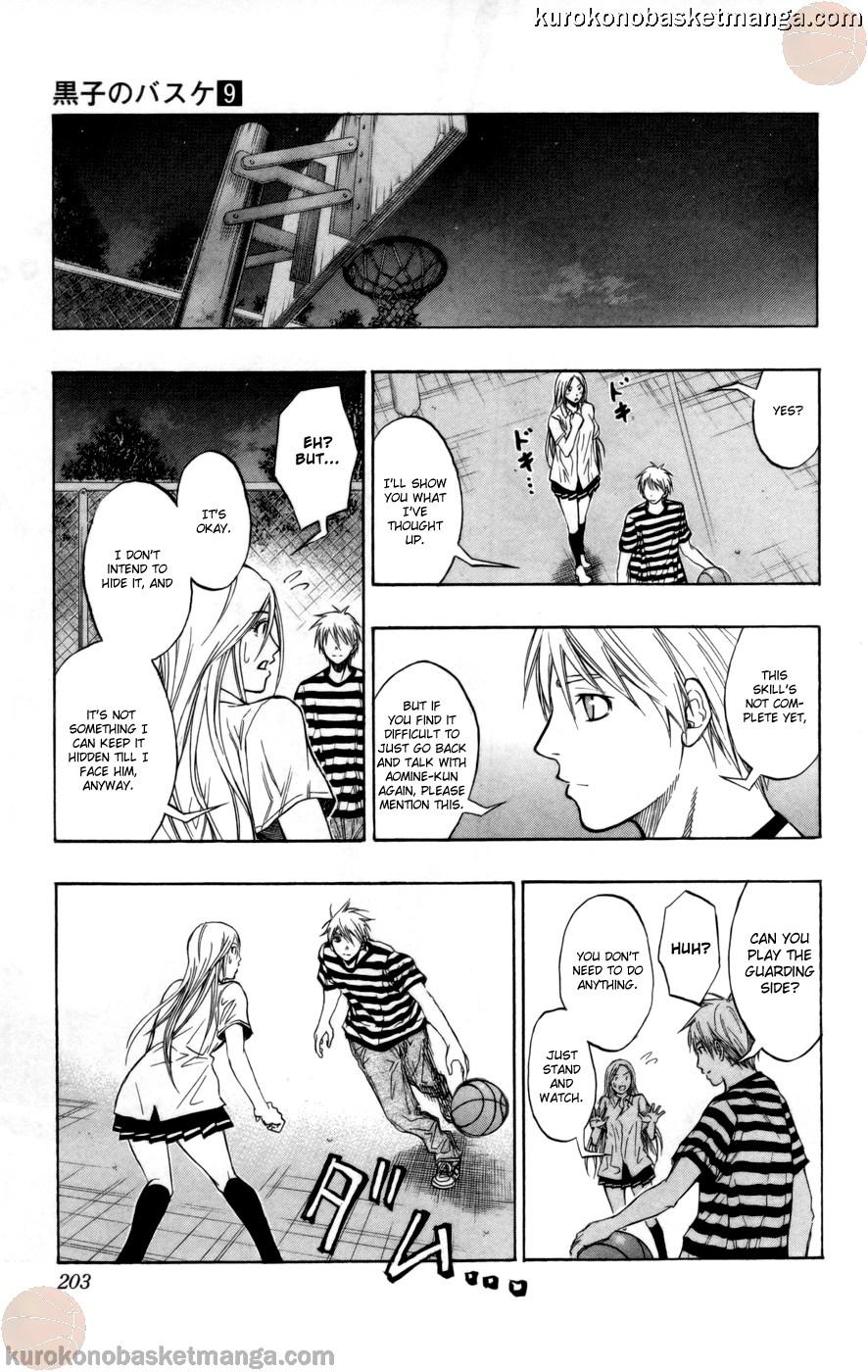 Kuroko no Basket Manga Chapter 80 - Image 17