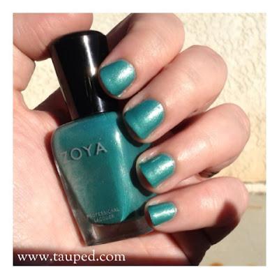 zoya zuza nail polish swatch