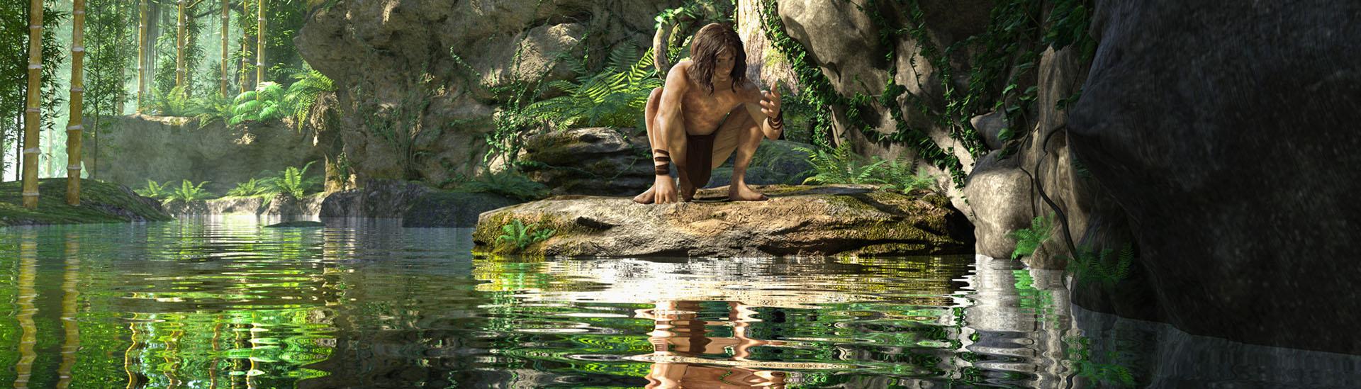 Baner filmu 'Tarzan. Król Dżungli'