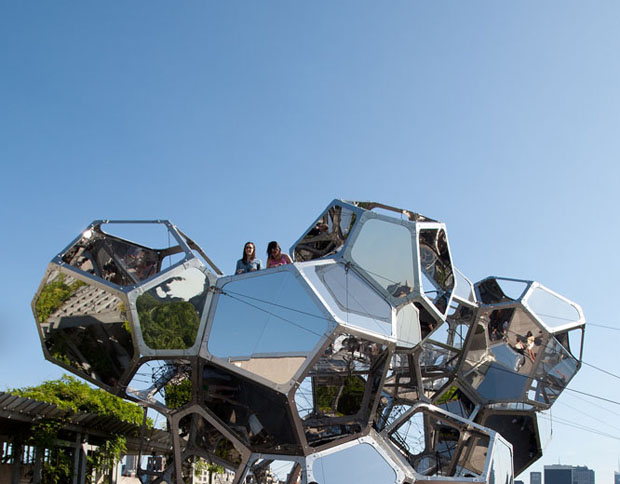 Cloud City on the Roof, Photography by Studio Tomás Saraceno