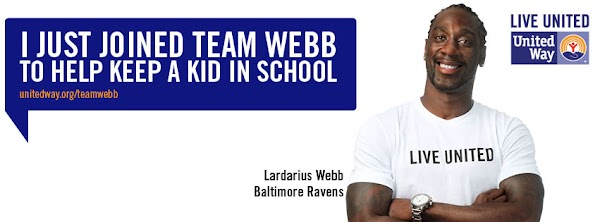 Lardarius Webb - United Way Team NFL