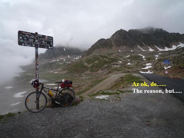 Györgyi Gábor & Francia Alpok kerékpártúra, Nice - Colle LOmbarda