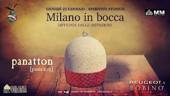 """""""Milano in Bocca"""" Aperitivo Storico   22 Gennaio Milano"""