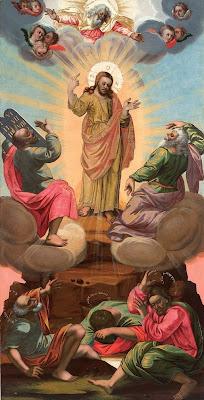 Преображение Господне. Икона местного ряда иконостаса 1719