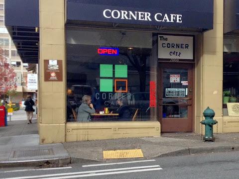 The Corner Cafe at 1000 Madison Street, Seattle.