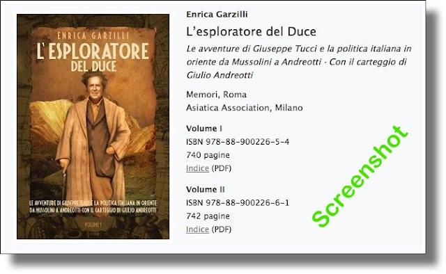 Garzilli: L'esploratore del Duce