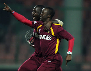 Kemar Roach was thrilled while picking up a hat-trick, Netherlands v West Indies, Group B, World Cup 2011, Delhi, February 28, 2011