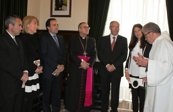 Câmara de Lamego recebe D. António Couto em visita pascal