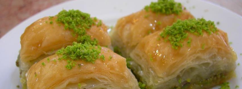 Fıstıklı baklava facebook kapak fotoğrafı