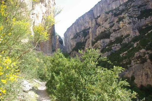 Le sentier Martel dans les gorges du Verdon