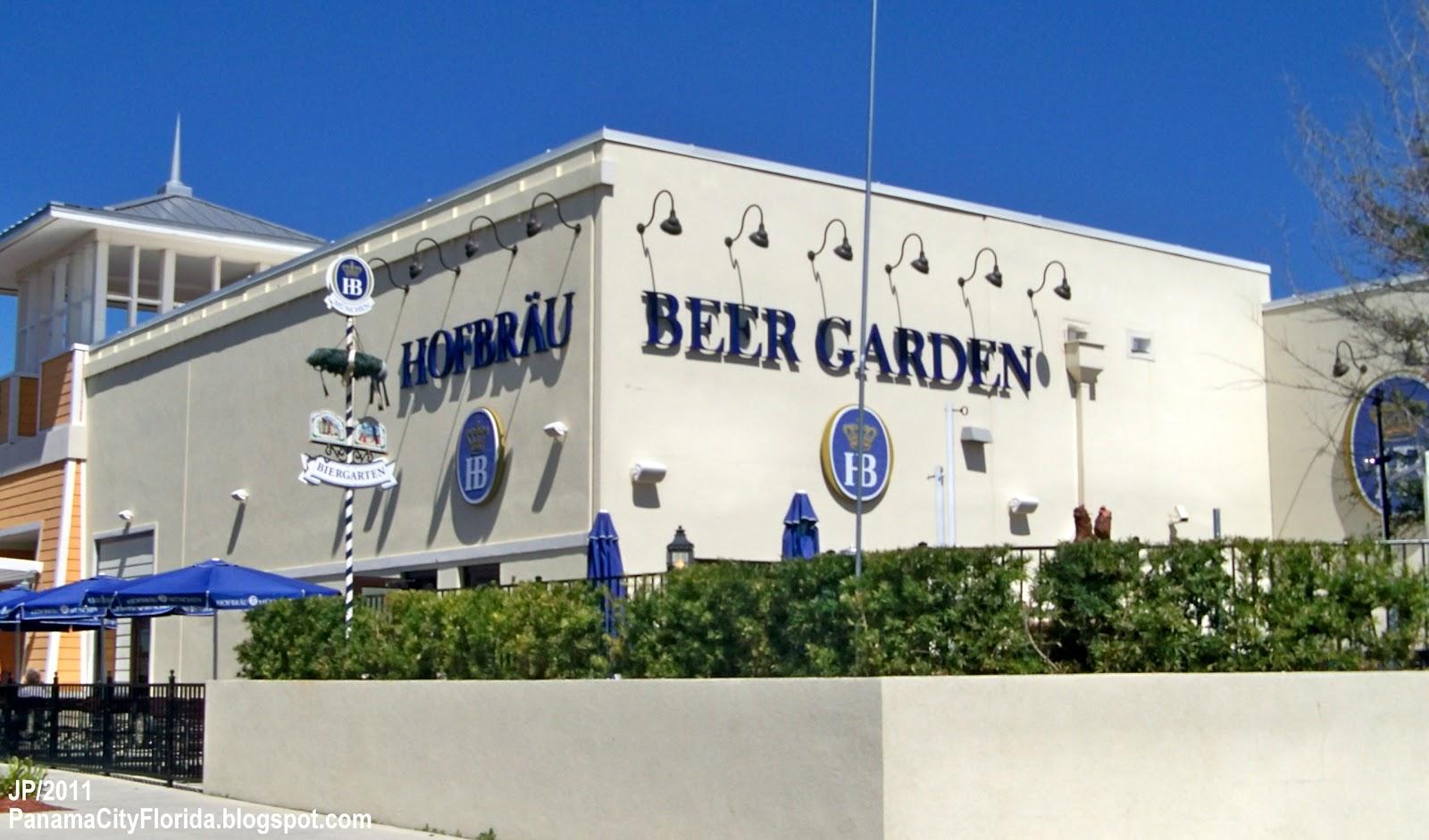Hofbrau Beer Garden Panama City Beach Florida Pier Park Restaurant Bar Pcb Fl