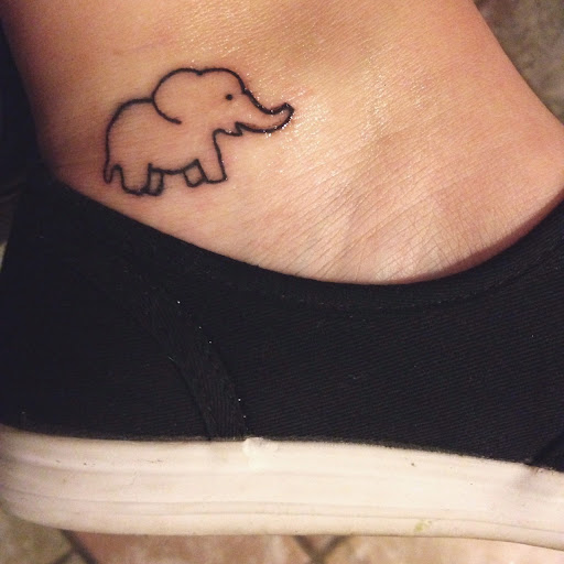 70 best elephant tattoo designs and ideas tattoosme rh tattoosme com small cartoon elephant tattoos cartoon elephant tattoo meaning