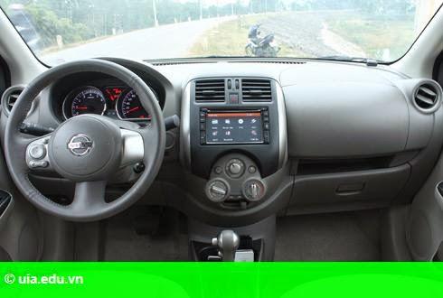 Hình 2: Nissan Sunny mới - thay đổi hợp thời