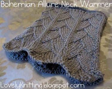 Knitted Bohemian Allure Neck Warmer
