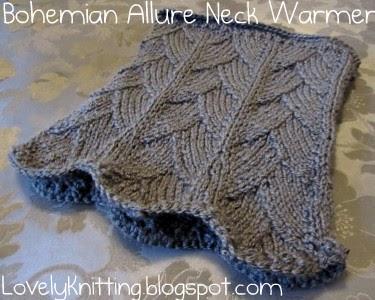Bohemian Knitting Patterns : Knitting Girls Lovely Knitting: Bohemian Allure Neck Warmer
