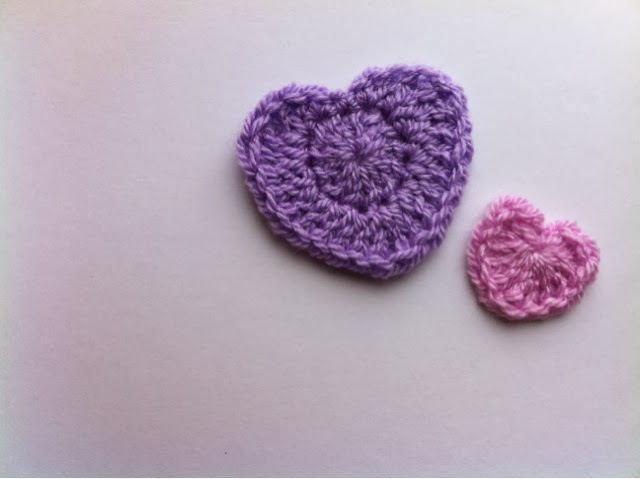 Frofunky Two Free Super Simple Crochet Heart Patterns