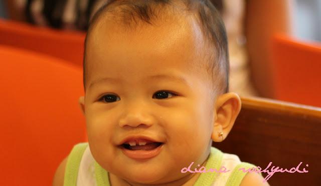 Gigi Bayi Mulai Tumbuh