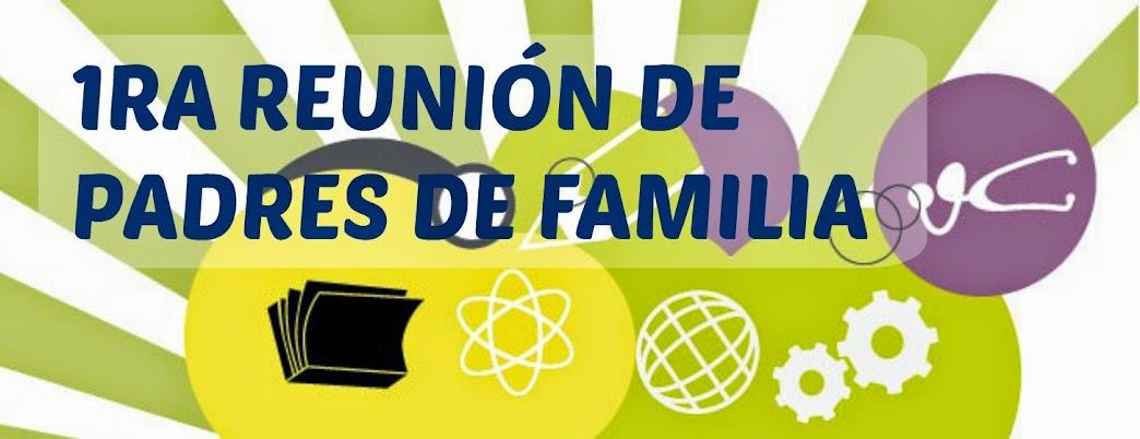 PADRES DE FAMILIA PARTICIPAN DE LA PRIMERA REUNIÓN GENERAL EN EL COLEGIO AMÉRICA