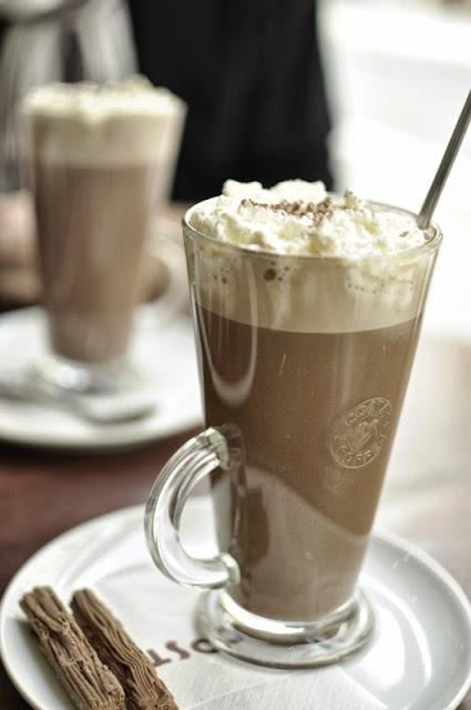 Les chocolats chauds de Prague...