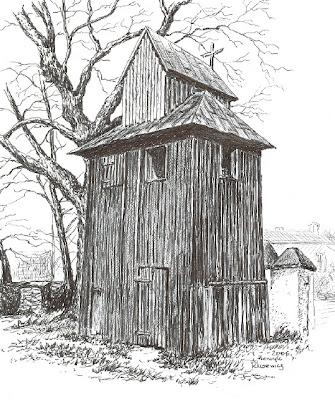 Dzwonnica przy kościele pod wezwaniem św. Michała Archanioła w Siedlcach