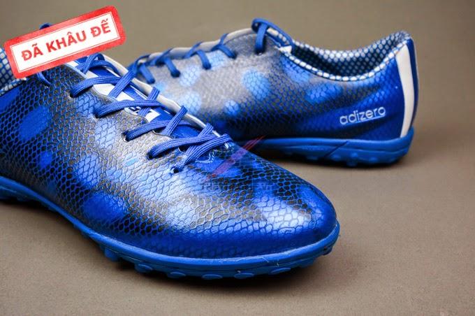 bán buôn giày bóng đá F10 Real Dragon Xanh 1 Đen TF