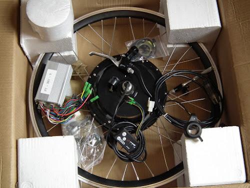 zestaw do konwersji roweru na elektryczny